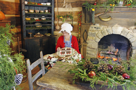 Christmas in Old Appalachia Recreates Christmases of Old