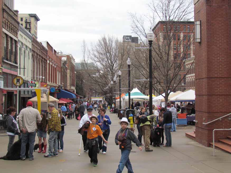 Market square knoxville tn photo by john disque