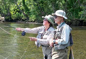 How to fish the clinch river tailwater for trout seminar for Clinch river fishing