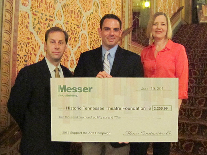 Messer Construction Co. Campaign Supports Local Arts