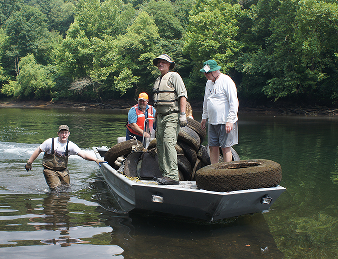 Volunteer registration opens for big clinch river cleanup for Clinch river fishing