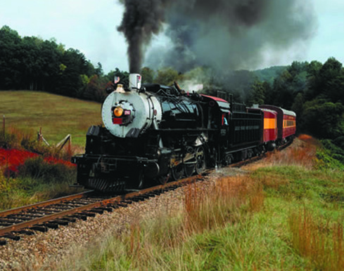 Smoky Mountain passenger steam train revived
