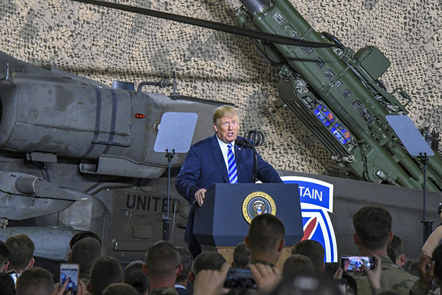 President Signs Fiscal 2019 Defense Authorization Act at