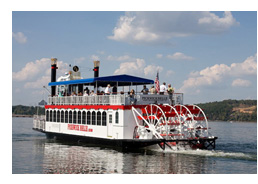 Tennessee Riverboat Cruises Romantic Cruises Or Family