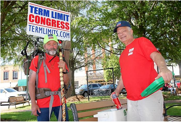 """Tim """"Izzy"""" Israel term limits walk from Key West to Washington"""